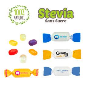 bonbons avec stevia