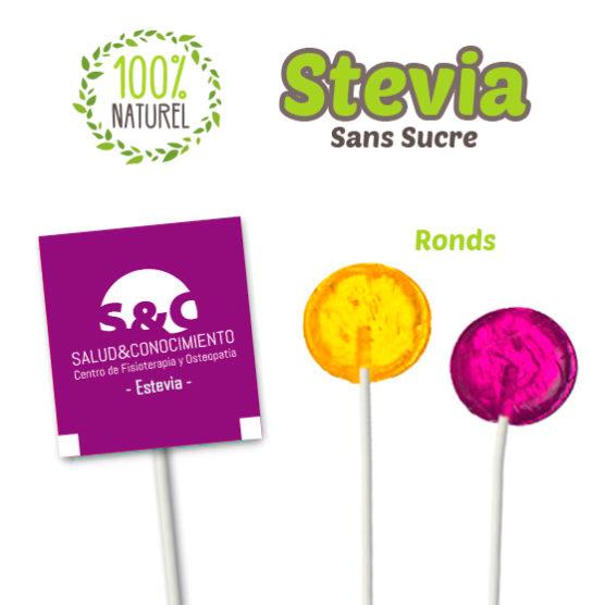 sucettes avec stevia