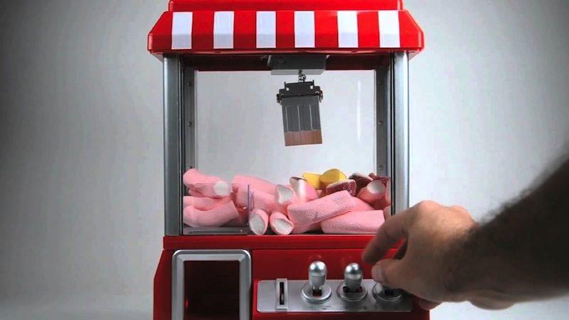 Máquina de Caramelos de Feria con Música