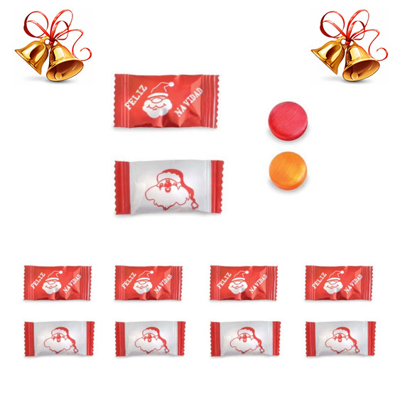 Caramelos Navidad Sobre Genéricos
