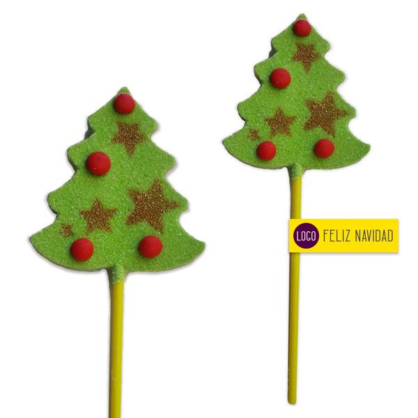 Piruletas Navidad Arbol Golosina