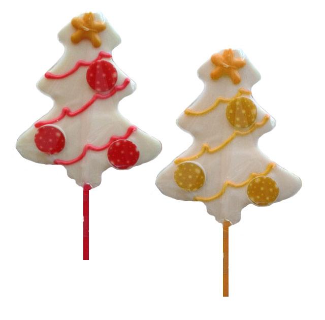 Piruletas Navidad Arbol Chococolate