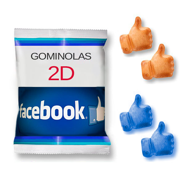 Bolsitas Personalizadas Gominolas 2D 20 gr