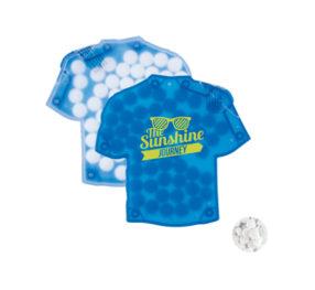 Dispensador de caramelos en forma de camiseta