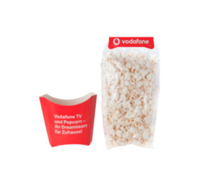 Packaging Palomitas Personalizado