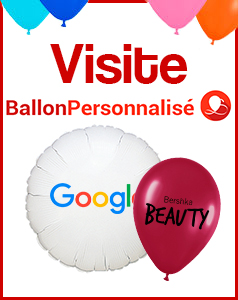 visite ballon personnalise